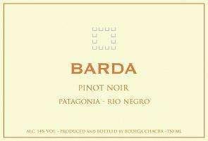 Barda Pinot Noir 2013