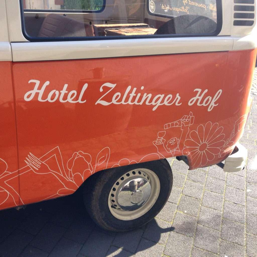 Hotel Zeltinger Hof. Photo by Gloria J. Chang.