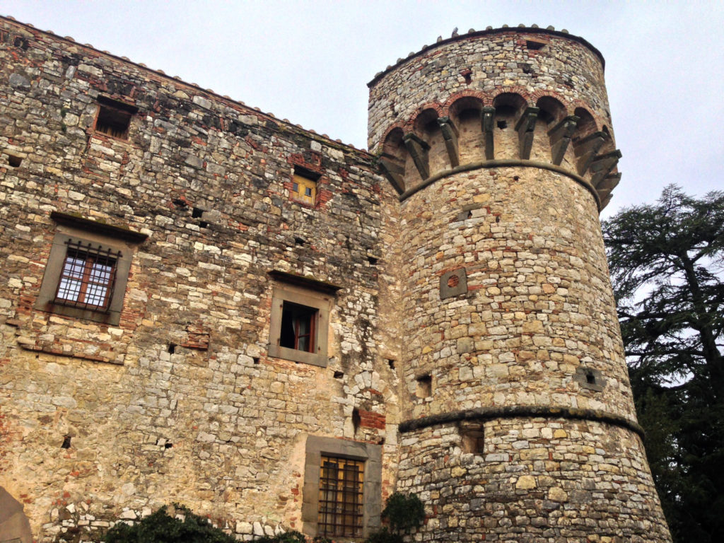 Castello di Meleto, Gaiole in Chianti. Photo by Gloria J. Chang.