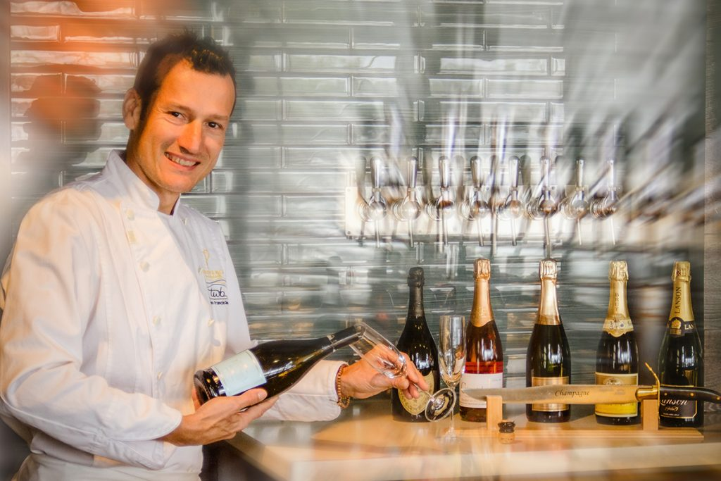 Chef Jean François Quaglia at The Wine Bar, Vancouver, Canada